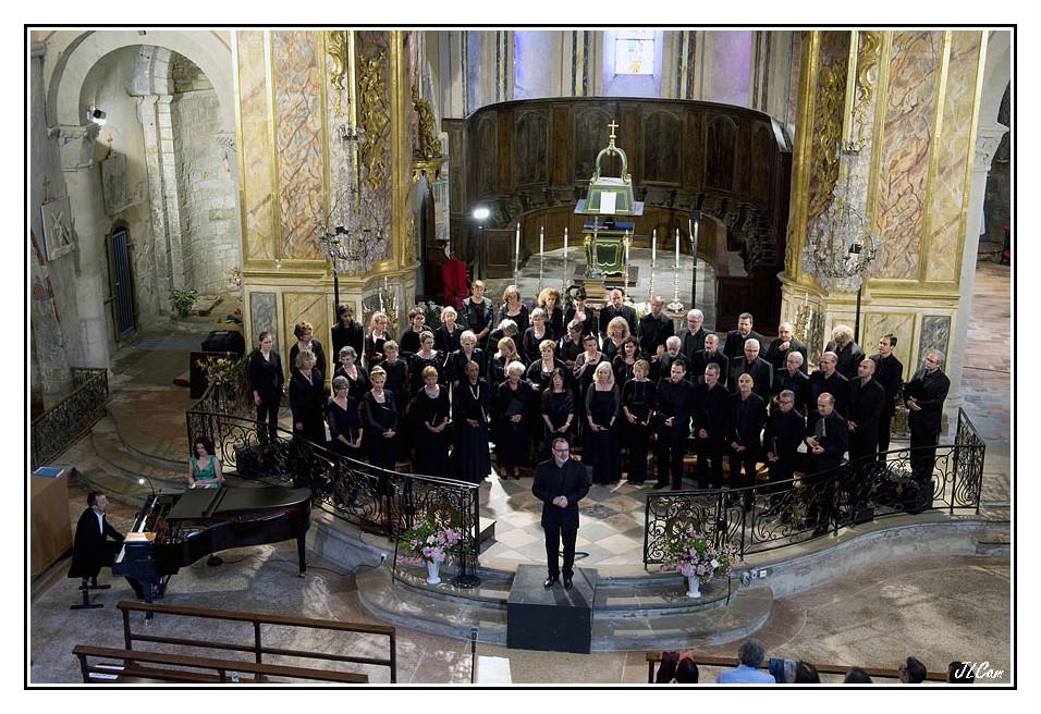 Juin 2015- abbaye de Saint Papoul - Crédit photo Jean Louis Camilleri