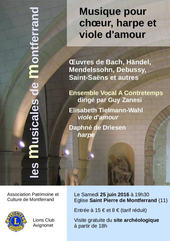 affiche concert Montferrand