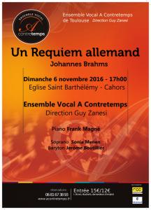 2016 11 06 Affiche concert de Cahors